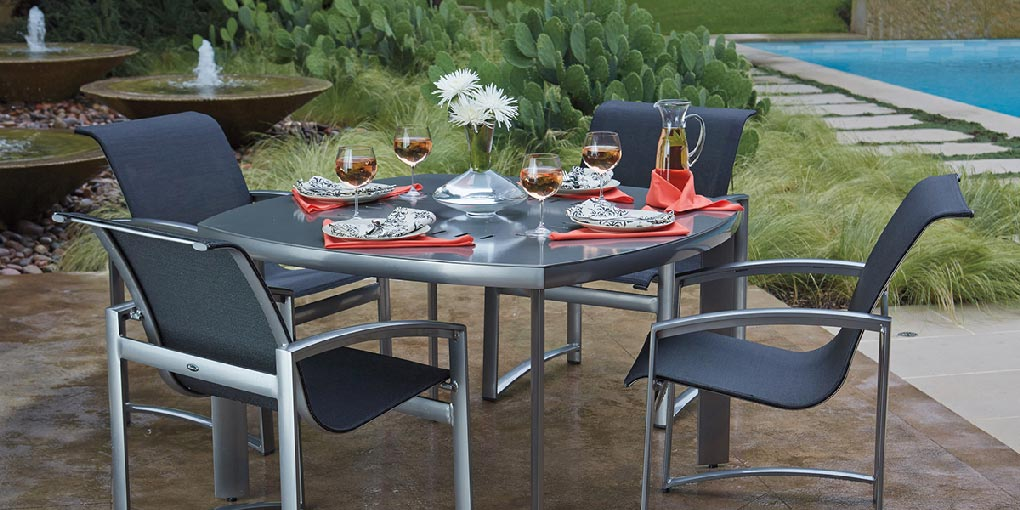 ... Woodard Aluminum Furniture   Patio Barn, Amherst NH