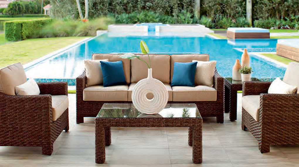 Wicker Outdoor Furniture At The Patio Barn ...